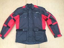 "RK SPORTS Mens Textile Motorbike / Motorcycle Jacket Size UK 46"" Chest (J32)"