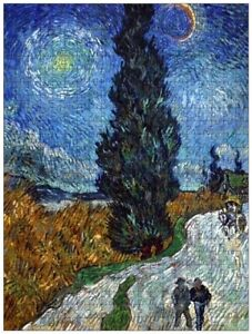 Road with Cypress and Star (van Gogh), jigsaw puzzle, 610mm×457mm, 500pcs