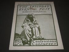 1900 OCTOBER 13 THE SATURDAY EVENING POST MAGAZINE - ILLUSTRATED COVER - SP 590