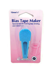 Hemline Bias Tape Maker - 12mm Medium Sewing Binding Tool