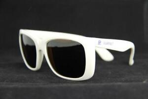 Vintage Vuarnet 087 White Sunglasses PX5000 Brown Lens