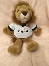 Official England Football Lion Soft Toy Soccer Memorabilia