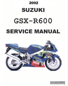 Gsxr600 Motorcycle Service Repair Manuals For Sale Ebay