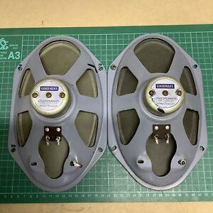 """HACKER MAYFLOWER 2 MODEL RV20 - Goodmans 10"""" x 6"""" 15 Ohm Speaker - 1 Pair"""