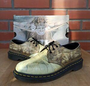 Dr Martens 1461 Tate William Blake Multi Backhand Women 5 UK 7 US 3 eye Boots