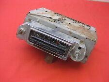 1964 Chevy Impala Belair Biscayne 2 & 4 Door Hardtop AM push button radio 0815