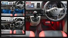 Volkswagen Footwell LED - Red White Blue (Great for VW Transporter T5.1 & T6)