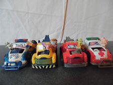 Rare lot de 4 voitures à friction New ray 1993