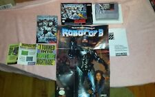 ROBOCOP 3 NEW MINT Super Nintendo us version snes rare original rar NEVER USED