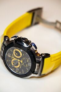 Tissot T-Race T0484172705703 Wrist Watch Yellow