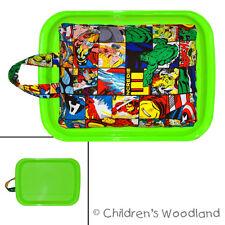 Superhero Gift for Boy - Marvel Avengers Lap Desk - Artistic Kid Travel Art Tray