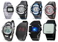 Digital LED Fashion Sports Wrist Watch Unisex Men Women Kids School Boys Girls