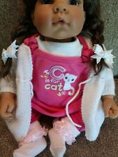 Adorable LEE MIDDLETON  girl doll in perfect condition