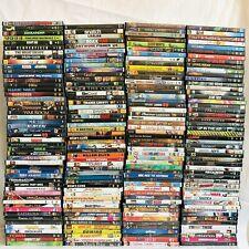(200) DVD Movie Lot - Comedy Drama Kids Horror Cartoons Resell Bulk Wholesale