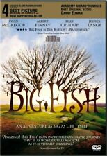 Big Fish New Sealed Dvd Tim Burton Jessica Lange