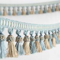 Curtain Tassel Edging Sewing Trims Upholstery Fabric DIY Cushion Decor Home Long