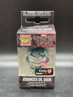 Funko Pocket Pop Keychain Marvel Venomized Dr. Doom Gamestop Exclusive CHASE