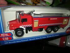 1:50 Siku Mercedes-Benz Zetros Feuerwehr Brandweer Nr. 2109 OVP