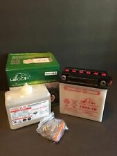 12N9-3B 500 CC H1 Series 1973-1975 Motorcycle Battery With Acid