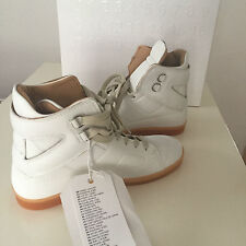 Maison Martin Margiela Paris H&M High Top Sneakers Weiß White Leder 40 US 7