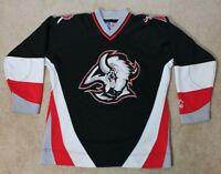 Buffalo Sabers Hockey Jersey Youth S/M Vintage Starter - Black
