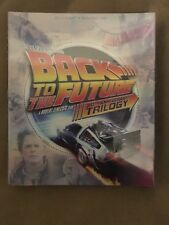 Back to the Future Trilogy (Blu-ray Disc, 4-Disc Set, 2015) BRAND NEW