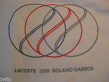 Lacoste size Xs 4 small tennis shirt sleeveless 2009 French Open Roland Garros