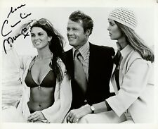 CAROLINE MUNRO Signed Photo - The Spy Who Loved Me