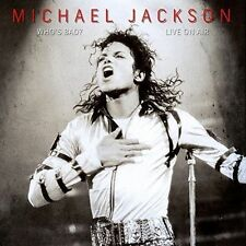 Who's Bad - Live on Air Michael Jackson Audio CD