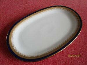 Winterling Bavaria Echt Kobalt Scharffeuer Servierplatte Braten Aufschnitt Plate