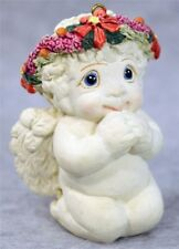 Vintage 1996 Dreamsicles Eager to Please #Dc295 Cherub Angel Christmas Ornament