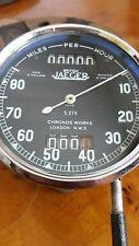 DAIMLER, ALFA ROMEO British Jaeger Speedometer Chronos W London N.W. FAZ design