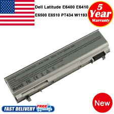 For Dell Latitude E6400 E6500 E6410 E6510 6-Cell Battery 4M529 F8TTW Notebook PC