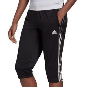 adidas Performance Tiro 21 3/4 Pant Women schwarz/weiß - Damen Hose GM7372