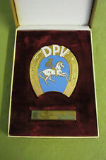 DDR Ehrenplakette - Deutscher Pferdesportverband - Chio Leipzig - 1968