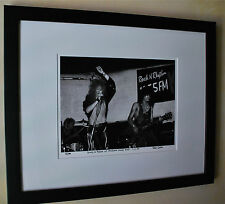 Guns N' Roses Axl Rose Slash fine art photo B.C Rich 1985 signed # 9/100 rare