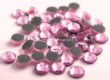 STRASS MC Stone collection 1440pz SS16 4mm Light Rose rosa chiaro hotfix adesivi