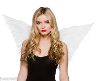 *ADULT FEATHER FAIRY ANGEL WINGS HEN NIGHT PARTY FANCY DRESS COSTUME ACCESSORY*