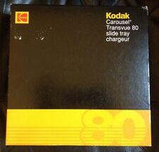 """Kodak Carousel Transvue 80 Slide Tray B80T Holds up to 80 2 X 2"""" Slides"""
