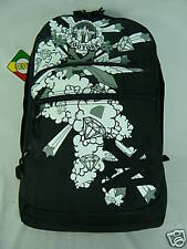 New Zoo York Battle Flyer Large Black Laptop Backpack School Book Bag ZOOYORK
