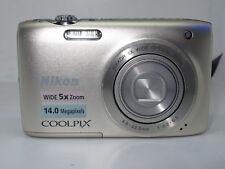 Nikon COOLPIX S3100 14.0MP Digital Camera - Silver