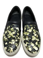 GIVENCHY FLORAL PRINT SLIP ON SNEAKERS, 37, $645