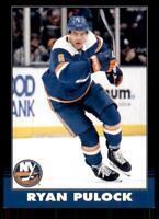 2020-21 UD O-Pee-Chee Retro Black Border 245 Ryan Pulock /100 New York Islanders