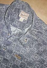 Mens Woolrich Original Outdoor wear long sleeve button up Medium M