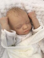 "REBORN DOLL BABY BOY/GIRL TONI REALISTIC 15"" TINY PREMATURE REAL LIFELIKE CHILD"