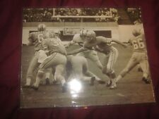 Original 1967/1969 AFL Football Houston Oilers 11 X 14 Photo