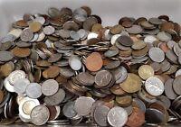 Lote 1 Kg Monedas Mundiales Variadas Varied World Coins