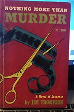 NOTHING MORE THAN MURDER by Jim Thompson ~ Hillman Publications #38 ~ RARE!