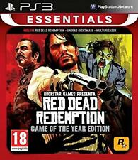 Red Dead Redemption: Game of the Year Edition (PS3) NEW & SEALED - IMPORT