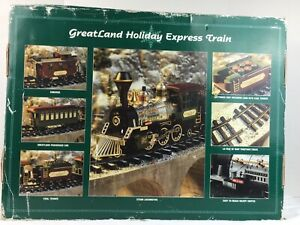 VTG 1994 Greatland New Bright Holiday Express Train Set Battery Power Operated